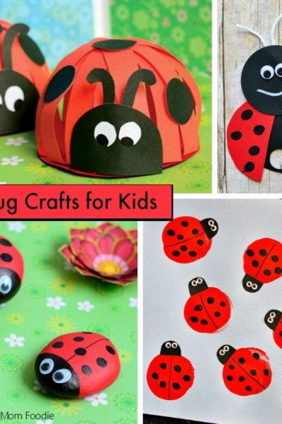 Ladybug Crafts Kids will Love
