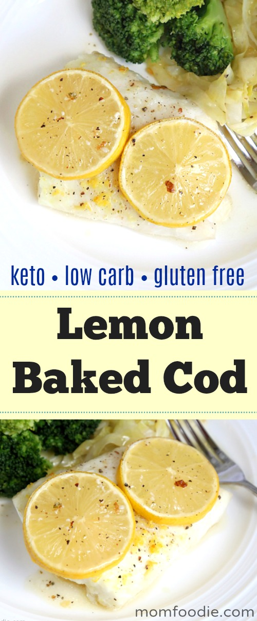 Lemon Baked Cod Recipe