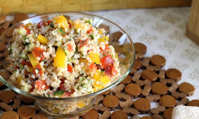 Lemon Balm Summer Veggie Tabouli 1