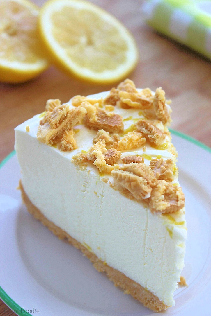 Lemon-Oreo-Cheesecake-recipe No-Bake
