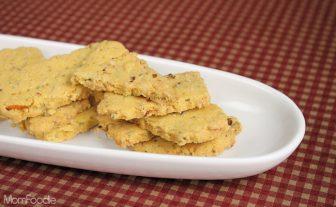 Lemon-Walnut Cornmeal Shortbread