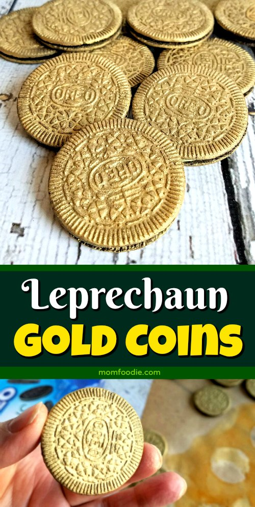 Leprechaun Gold Coin cookies
