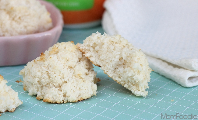 Light Coconut Macaroons