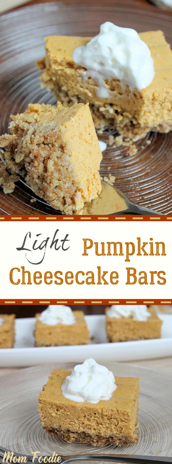 Light Pumpkin Cheesecake Recipe