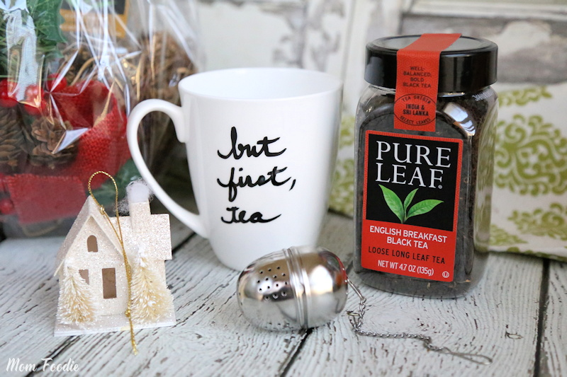 Loose Tea Gift Basket Idea