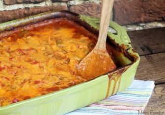 Manwich Fiesta Casserole Recipe