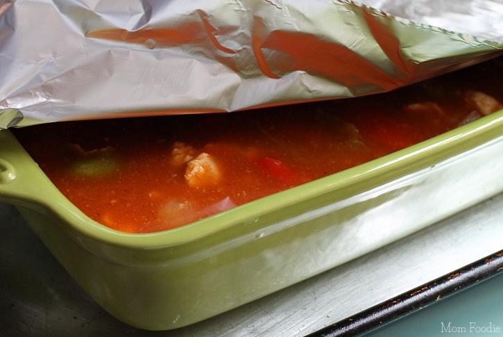 Manwich Fiesta Casserole - covered