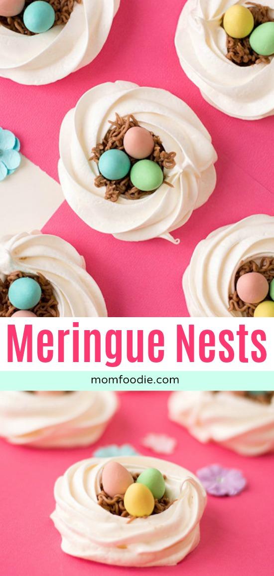Meringue Nests - Gluten Free Easter Cookies