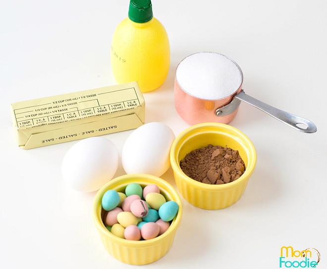 Meringue Nests Ingredients