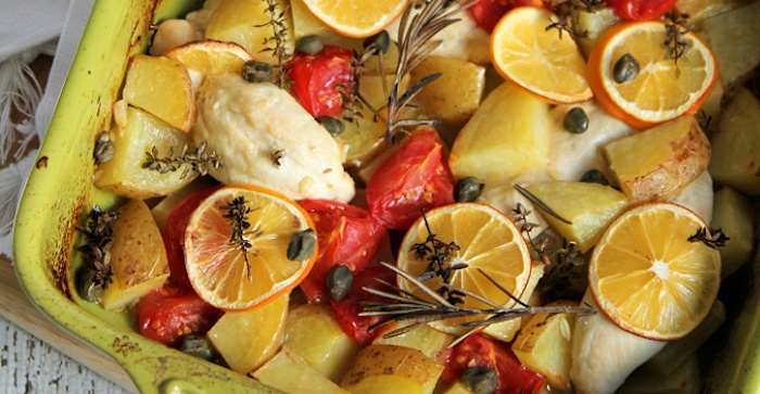 Meyer Lemon Chicken-Potato Recipe