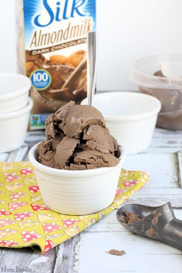 Mocha Non-Dairy Gelato Recipe