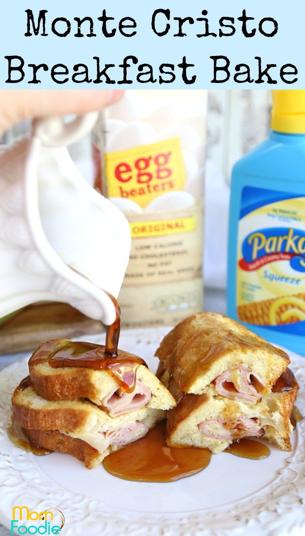 Monte Cristo Breakfast Bake pin1