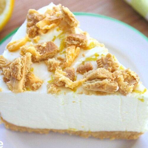 No Bake Lemon Cheesecake Oreo Crust