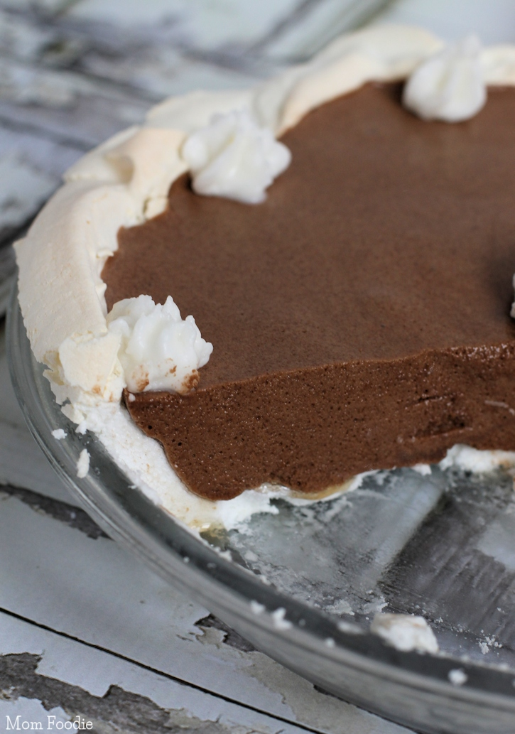 Non Dairy Chocolate Angel Pie
