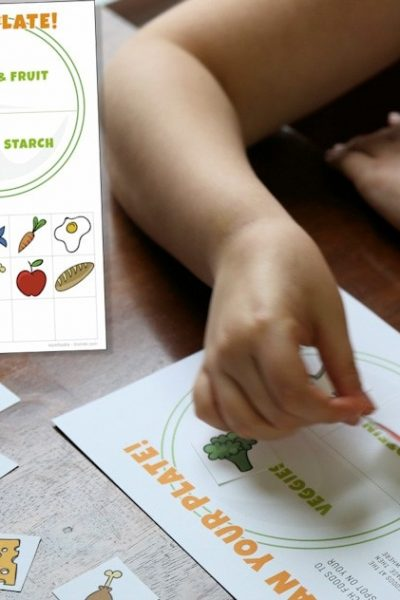 Printable Nutrition Activities for Kids