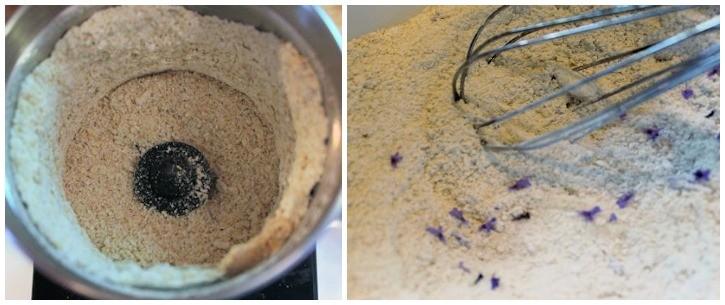 Oatmeal Lavender Bath Soak -  how to make bath soak