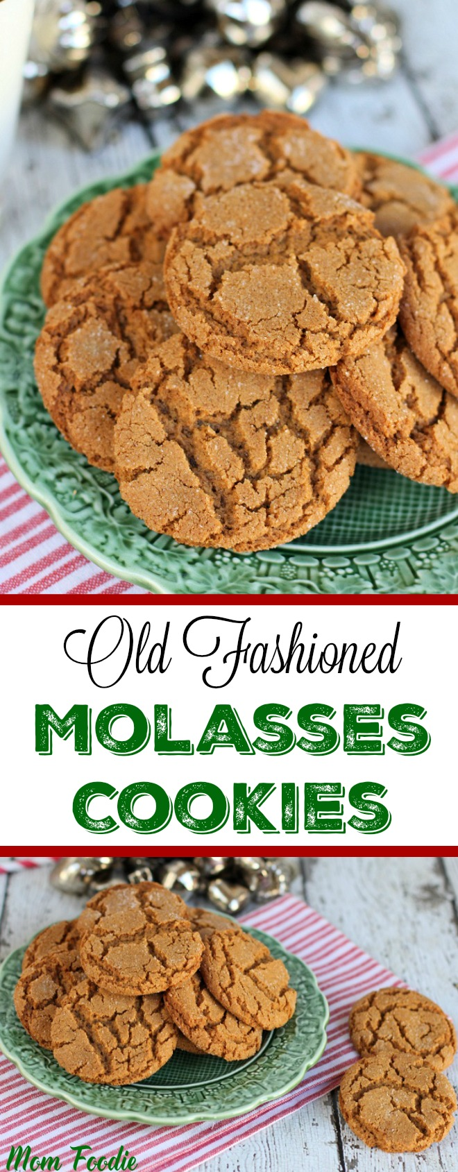 Old Fashioned Molasses Cookies Recipe - Mom Foodie