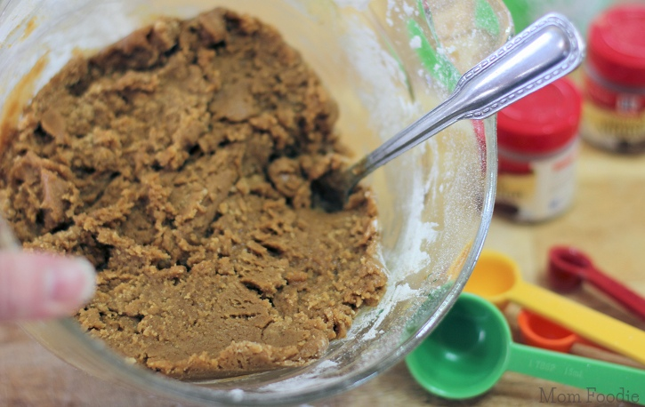Old Fashioned Molasses Cookies - dough