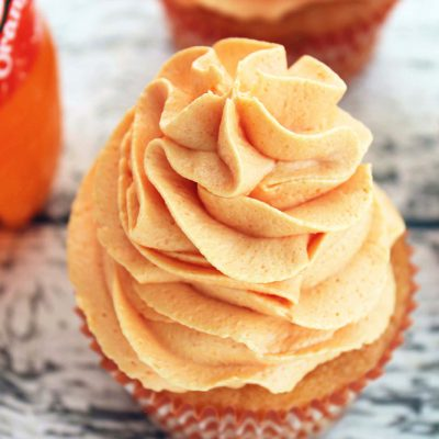Orange Crush Cupcake Recipe