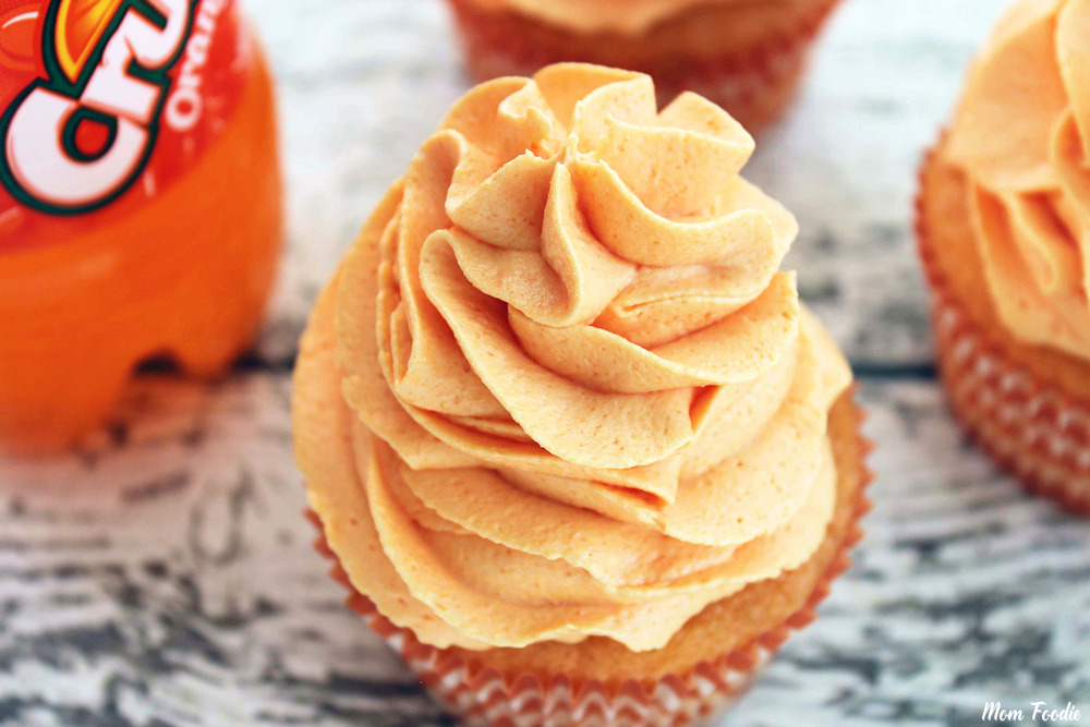 orange crush cupcakes recipe