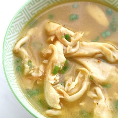 Oyster Mushroom Soup Keto