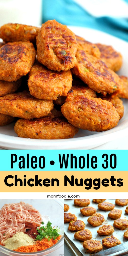 Paleo Whole 30 Chicken Nuggets with Sweet Potato