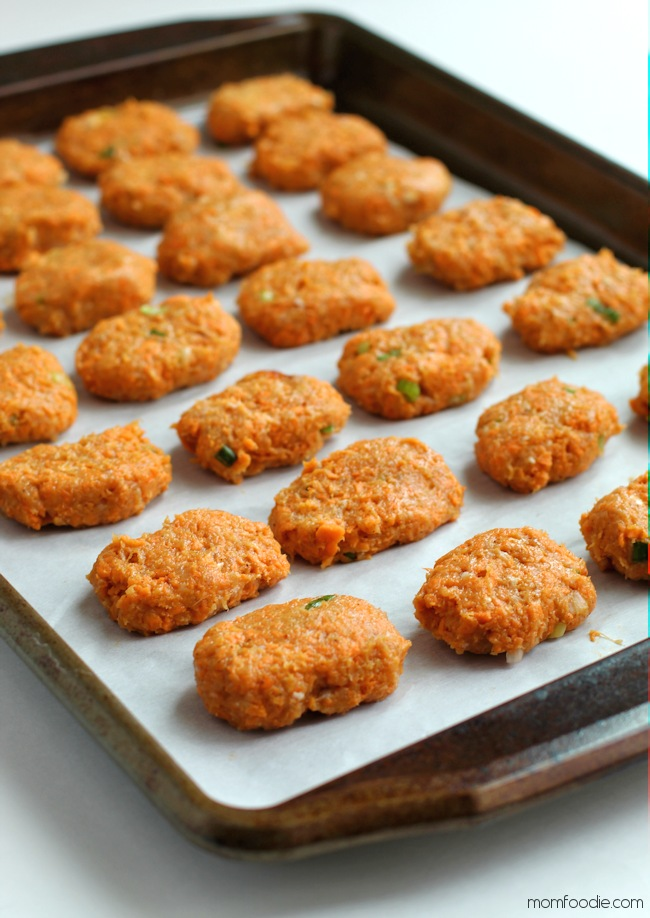 Paleo baked Chicken Nuggets