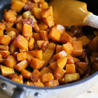 Pan-Fried Butternut Squash with Garam Masala