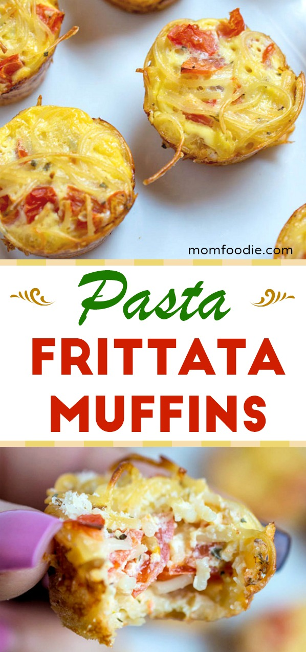 Pasta Frittata Muffins Recipe