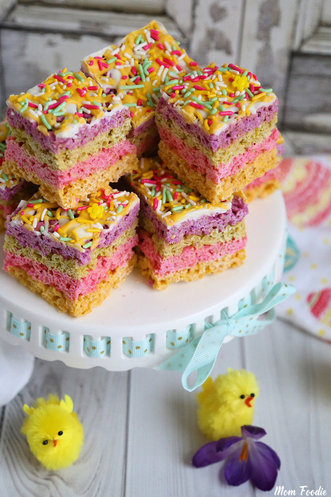 Pastel Chocolate Krispie Bars 2
