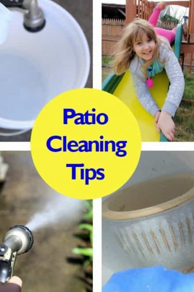 Patio Cleaning Tips: Bleaching Your Patio Ready for Summer Fun