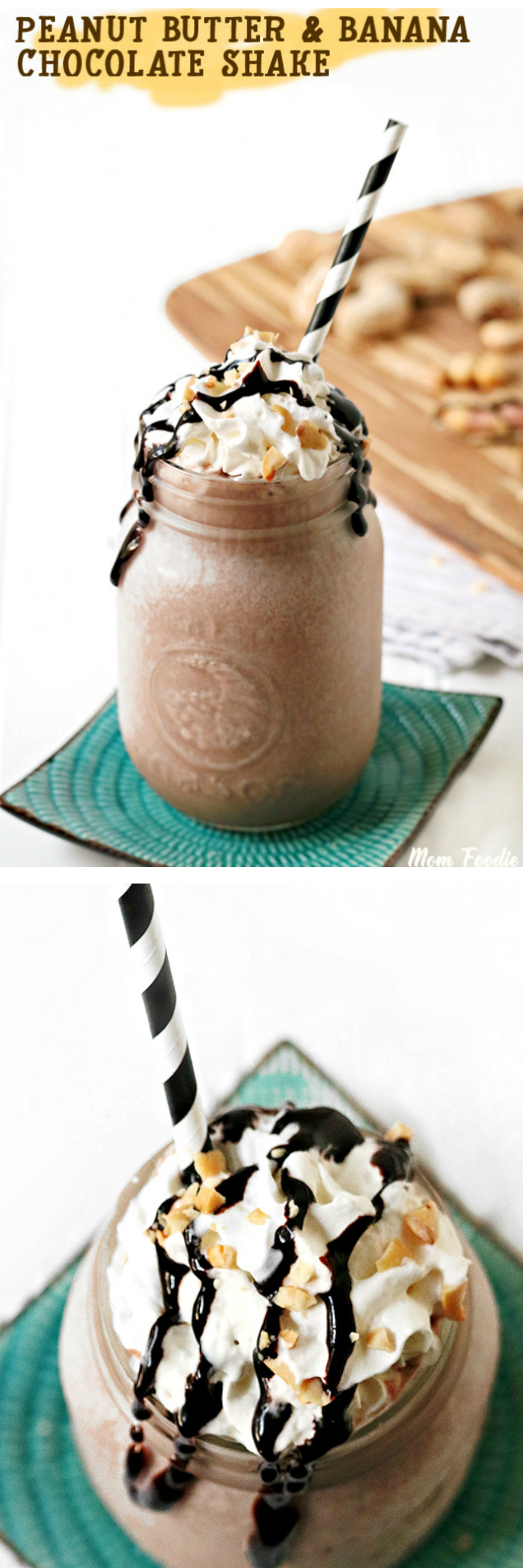 Peanut Butter & Banana Chocolate Shake