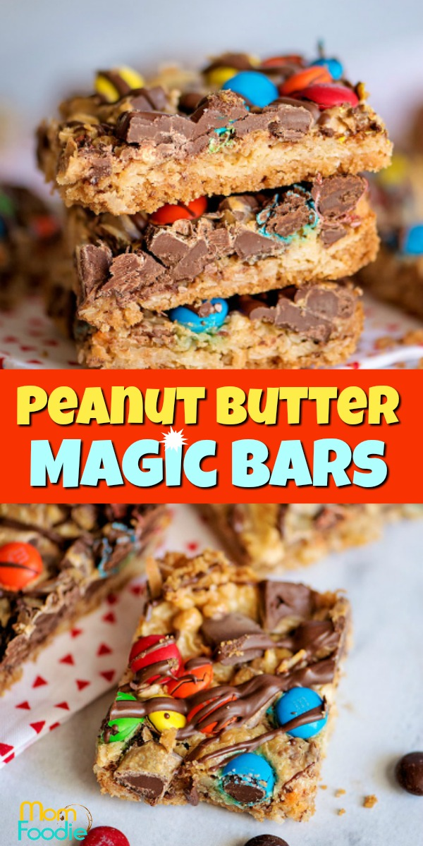 Peanut Butter Magic Bars pinterest
