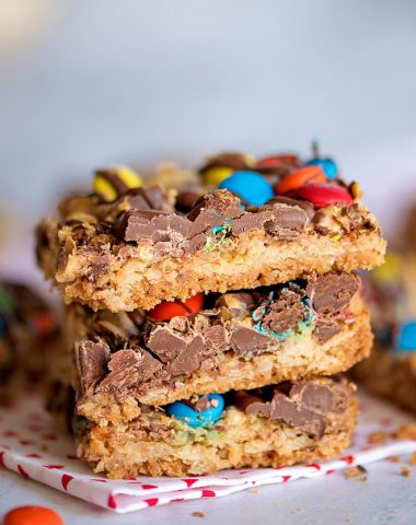 Peanut Butter Magic Cookie Bars