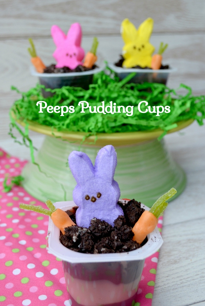 Peeps Pudding Cups