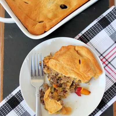 Philly Cheesesteak Casserole Recipe