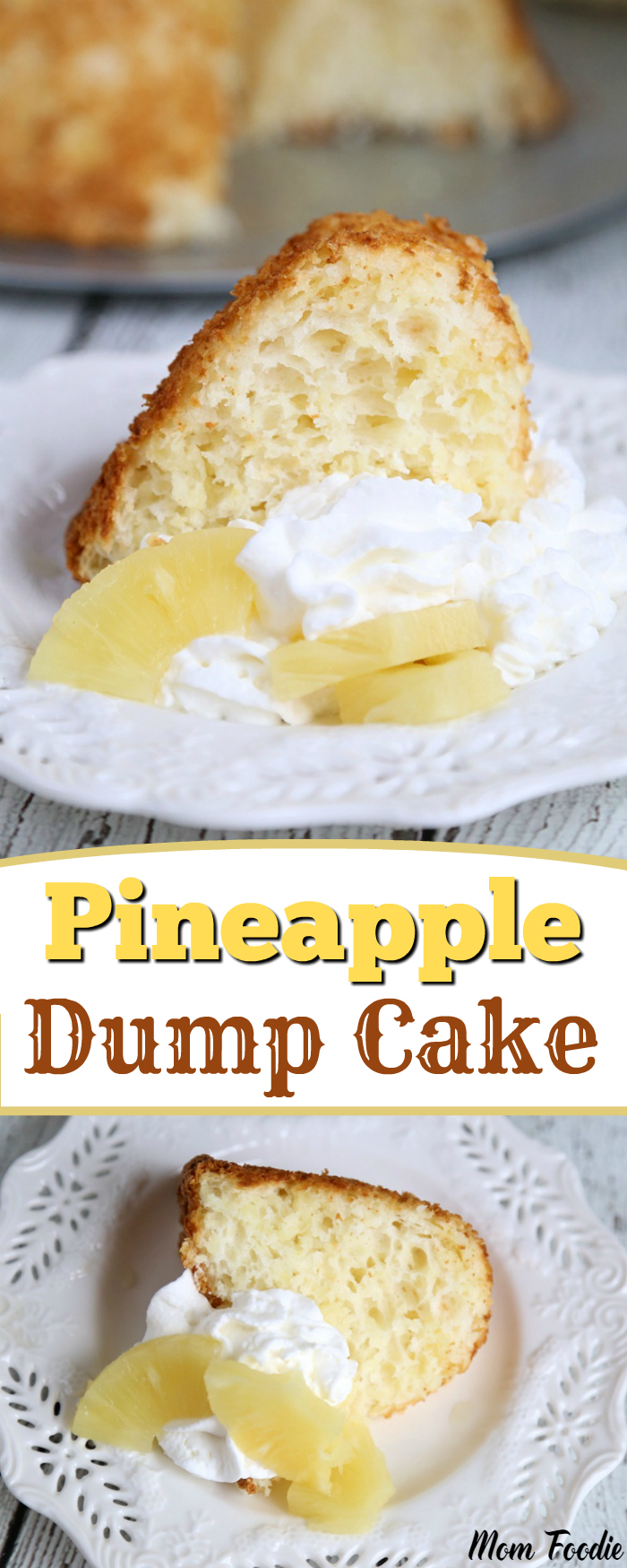 pineapple dump cake crushed pineapple dump cake recipe two ingredient 6541