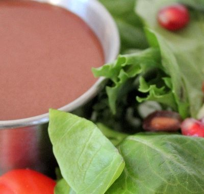 Pomegranate Balsamic Vinaigrette Dressing Recipe