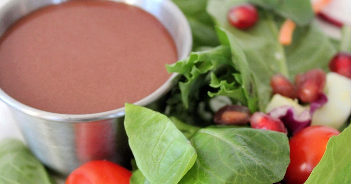 Pomegranate Balsamic Dressing feature