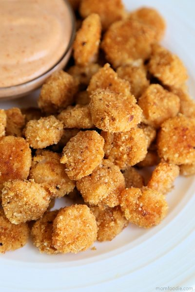 Popcorn Shrimp – Oven Fried Shrimp made with Mayonnaise!