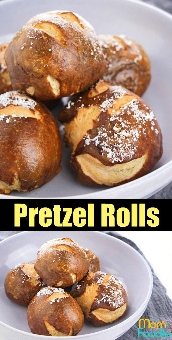 Pretzel Rolls Buns