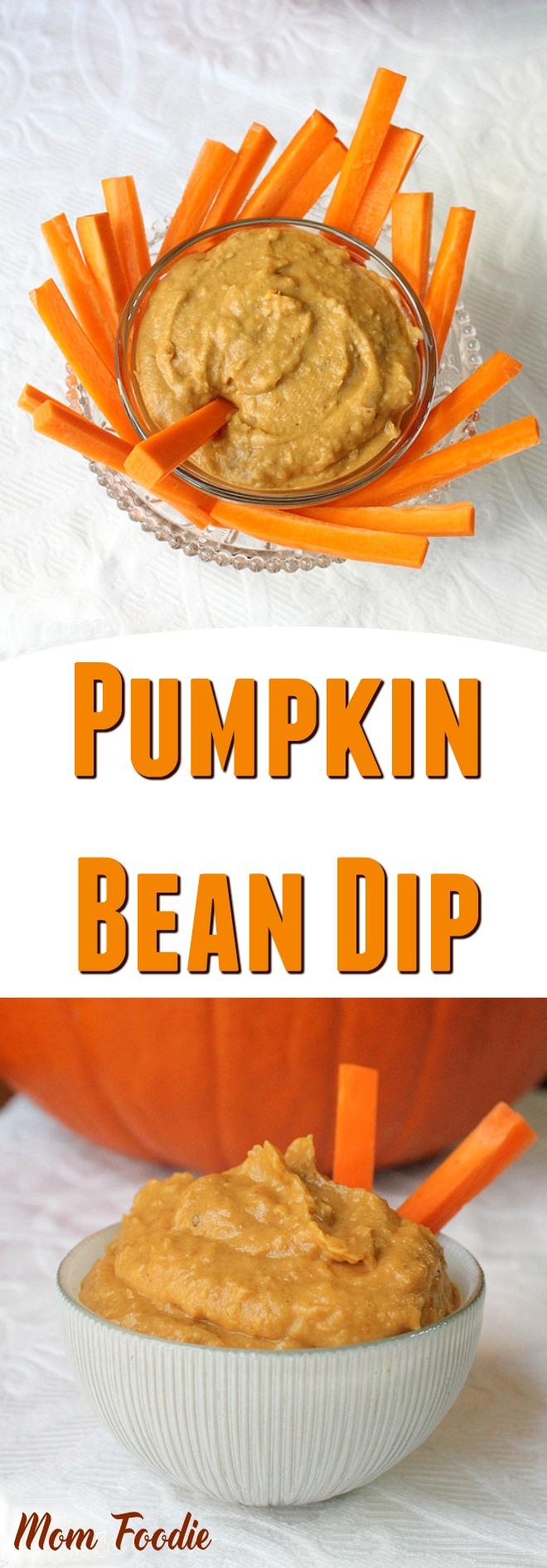 Pumpkin Bean Dip Recipe - Easy Fall appetizer