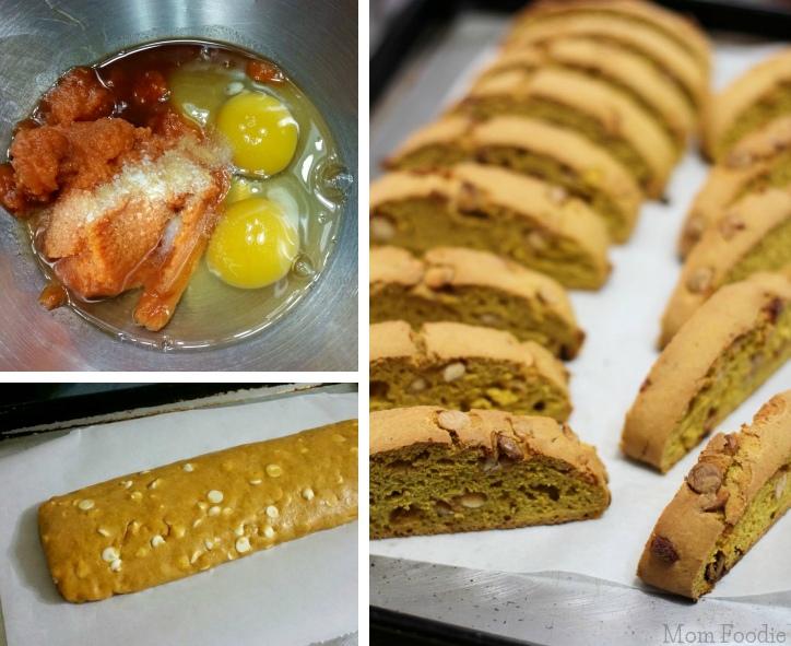 Pumpkin Biscotti Recipe - Collage