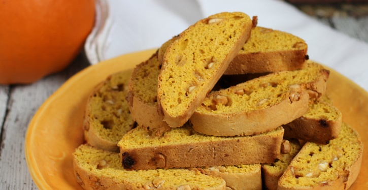 Pumpkin Biscotti Recipe