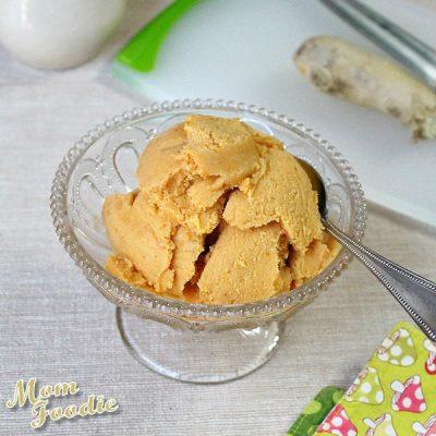 Pumpkin-Ginger Gelato (non-dairy)