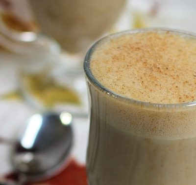 Hot Pumpkin Nog : A Festive Non-Dairy Holiday Beverage Recipe