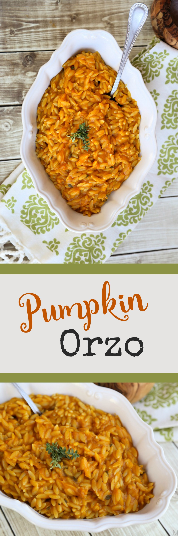 Pumpkin Orzo