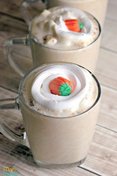 Pumpkin Pie White Hot Chocolate