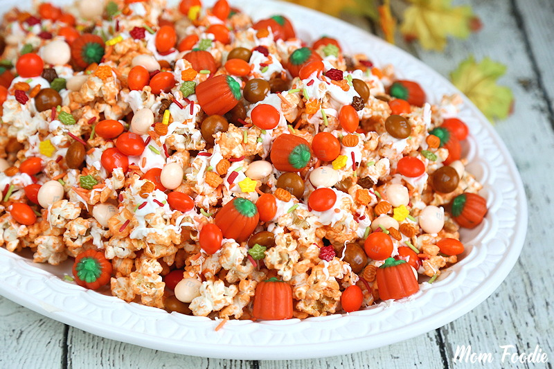 Pumpkin Spice Popcorn Mix - Fall Snack Recipe