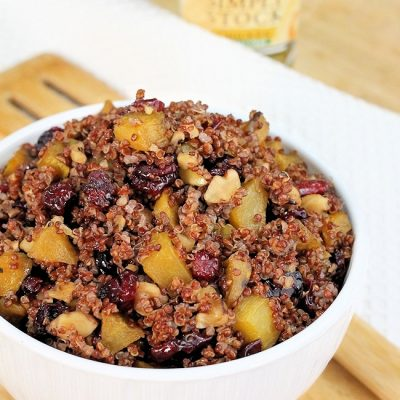 Cranberry and Golden Beet Quinoa Recipe : Gluten-Free Stuffing or Side